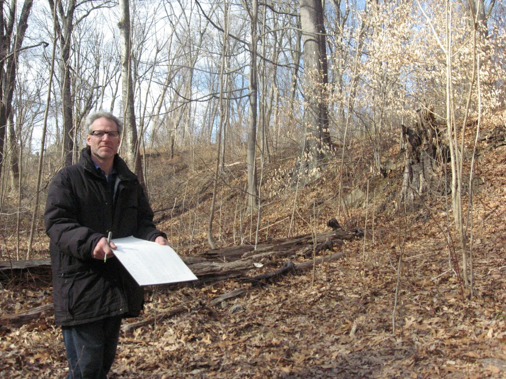 Sean Solomon was not pleased to discover a population of over 1000 Aralia elata directly adjacent to a high priority protection site, The Fairmount Park Master plan site s30, a stunning water cascade of  west Indian Creek and rock feature