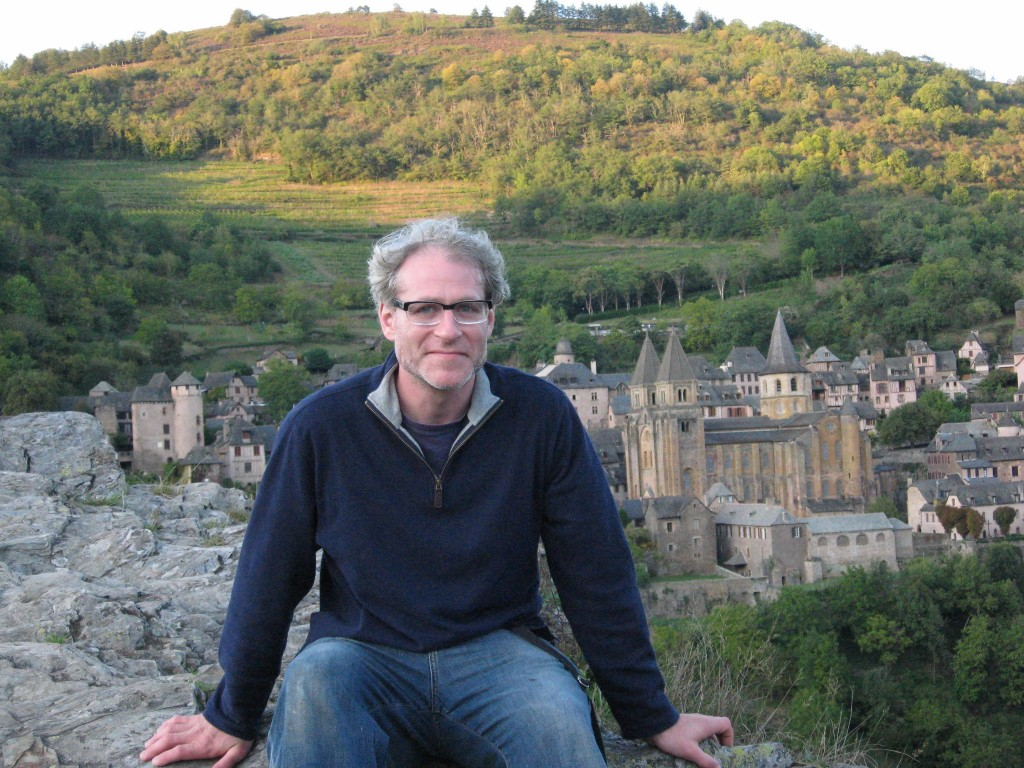 Sean Solomon in Conques, France