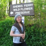 Isabelle Dijols, Shenks Ferry Wildflower Preserve, April 8, 2012